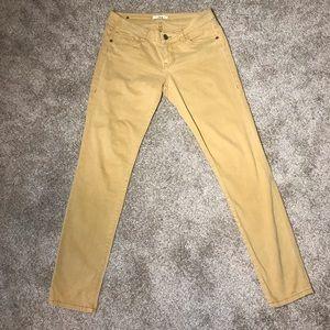 cAbi Mustard Skinny Jeans